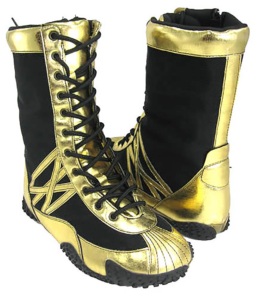 funky gold black boxing boots s ebay